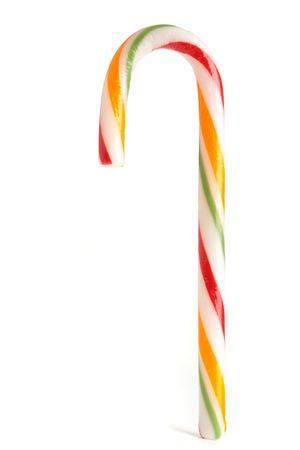 A fruit flavoured candy cane xmas treat. Stock Photo - 8017070
