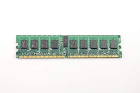 dimm: close up of DIMM memory from PC