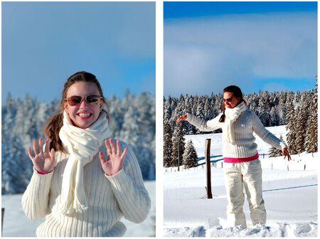Snow girl Stock Photo - 2051446