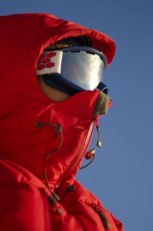 ski walking: Ski expedition