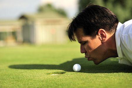 comp�titivit�: Golf tricher  Banque d'images