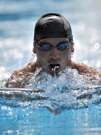 Swimmer - sport Stock Photo - 4076768