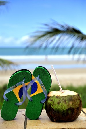 Brazilian flipflop in Brazil photo