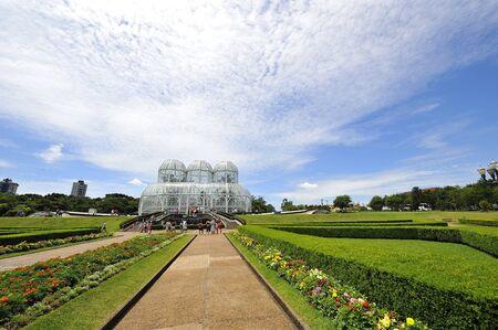 Botanic Garden in Curitiba, Brazil
