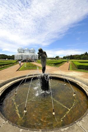 botanic: Botanic Garden in Curitiba, Brazil