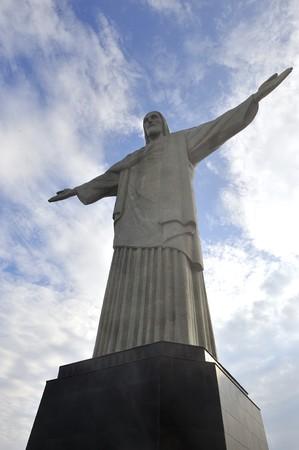 Chris Corcovado in Rio de Janeiro, Brazil  Editorial