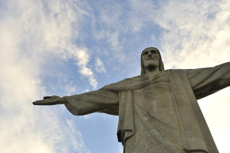 chris: Chris Corcovado in Rio de Janeiro, Brazil  Editorial