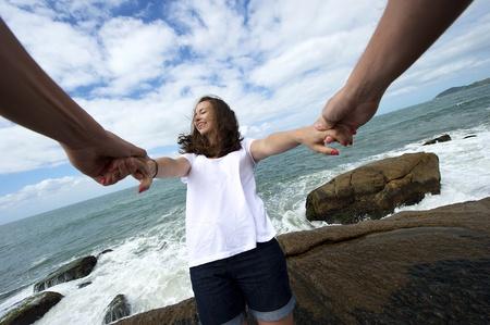 Fun on the beach Stock Photo - 10918536