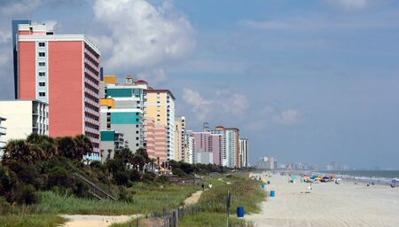 grand strand: Myrtle Beach, South Carolinas Grand Strand beaches and Hotels