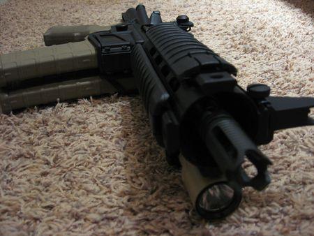 AR-15 Pistola Foto de archivo - 5106103