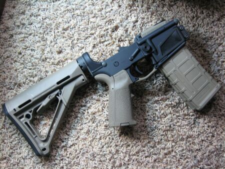 M16: ar-15 lower