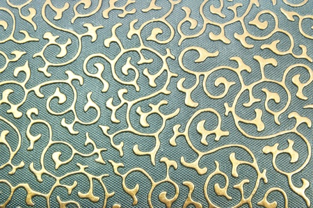 Ancient Thai Patterns on wall photo