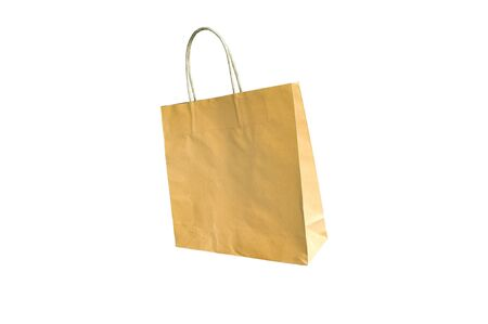 Paper bag isolated on white background Stock Photo - 13149529