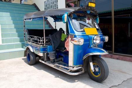 tuk: a tuk tuk tricycle