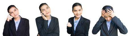 business woman activity photo