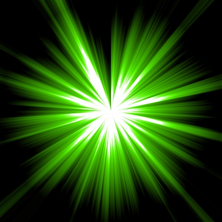 abstract background green light Stock Photo