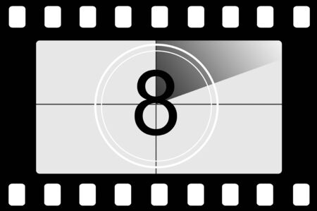 Film countdown 8 photo