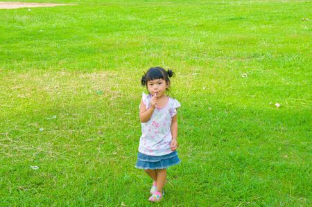 girl in park Stock Photo - 13994024