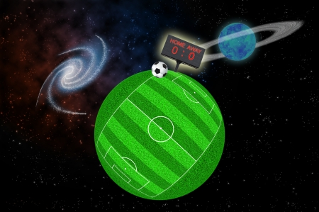 soccer planet Stock Photo - 13993885
