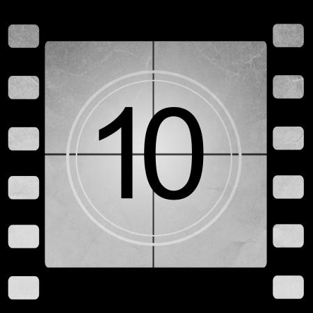 numero diez: Cine de cuenta regresiva de 10