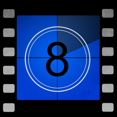 35 mm: Film countdown 8