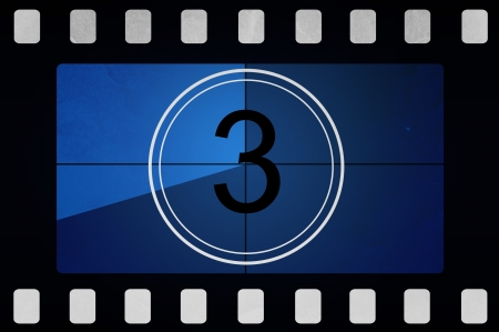 Film countdown 3 Stock Photo - 14063959