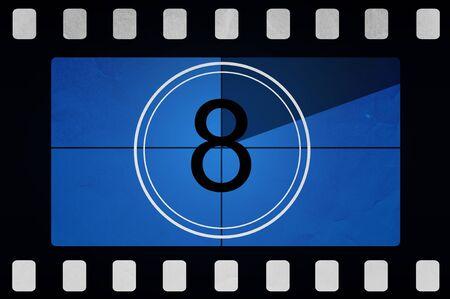 Film countdown 8 photo