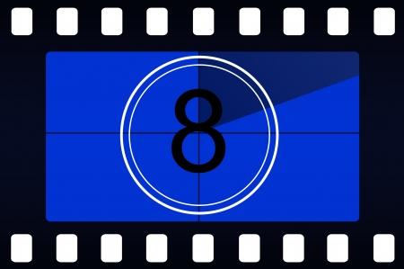 Film countdown photo