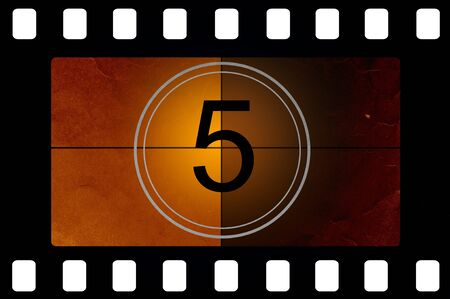 old timer: Film countdown 5