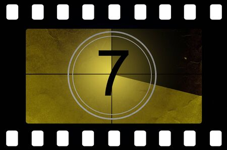 Film countdown 7 photo
