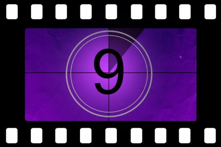 old timer: Film countdown 9