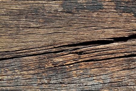 Worn wood detail photo