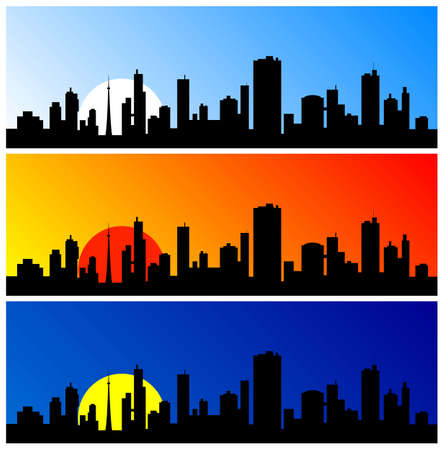 city silhouette Stock Photo - 6864028
