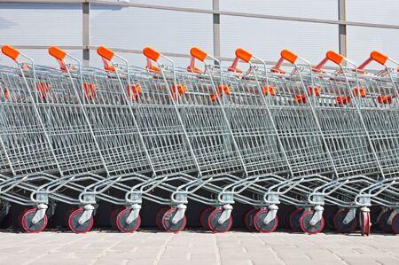 shopping carts Stock Photo - 7416046