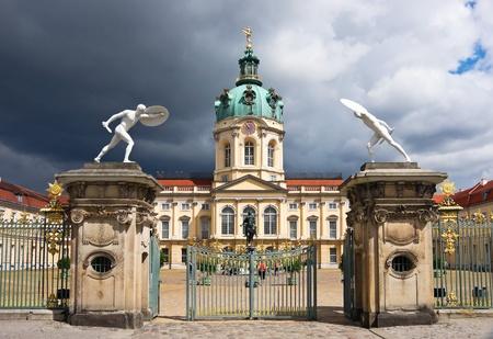 Charlottenburg Palace in Berlin. Germany.