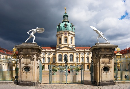 Charlottenburg Palace in Berlin. Germany.