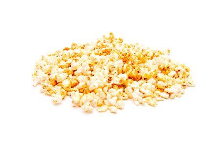 Popcorn, isolated on white background Standard-Bild