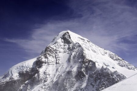 eiger: Eiger Mountain in Bern Alps (Switzerland)