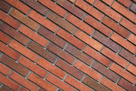 soundness: Diagonal brick wall background