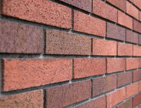 Diagonale Brick-Wand-Hintergrund Standard-Bild