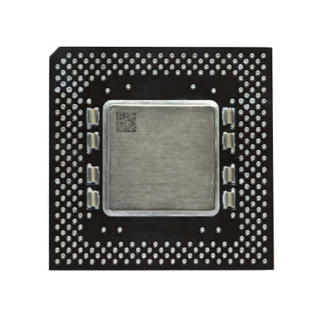 Modern CPU isolated on white Stock Photo - 4993097