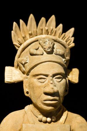cultura maya: Mexicano de la estatua de un hombre noble