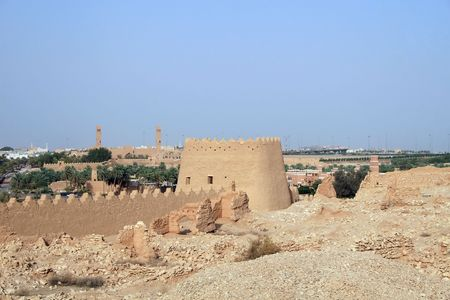 Diriyah - old city near Riyadh (Saudi Arabia) photo