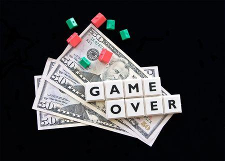 hypothec: Hypothec crisis (pile of dollars)