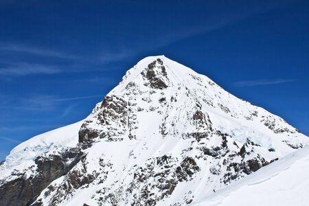 monch: Monch montain (Jungfrau region, Bernesse alps, Switzerland)