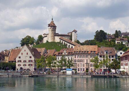 german swiss: Schaffhausen city view (Schaffhausen, Switzerland)