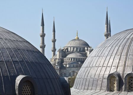 mehmed: Famous Blue mosque in Istanbul, Turkey