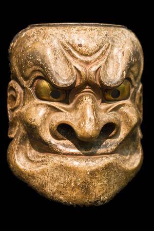 Demon mask (Japanese Noh Theater) photo