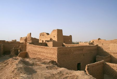 arabia: Diriyah - old city near Riyadh (Saudi Arabia)