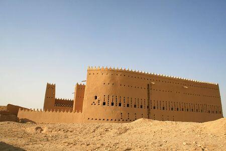 ibn: Saad ibn Saud palace in Diriyah (near Riadh, Saudi Arabia)